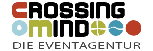 logo crossing-mind.de crossing mind - die Eventagentur